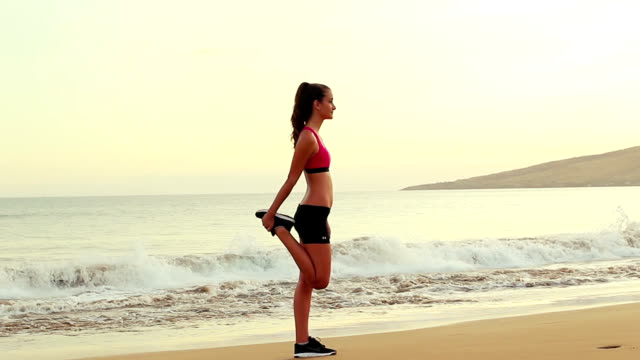 Beach Stretching Quad video