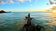 Beach Time Lapse Sunset video