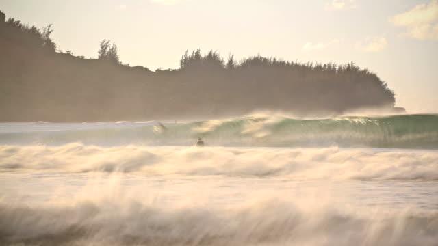 Beach Time Lapse Surfers video