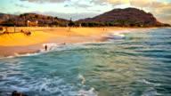 Beach Time Lapse video