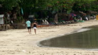 Beach Walk video
