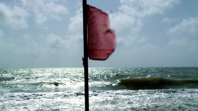 Beach Warning Flags video