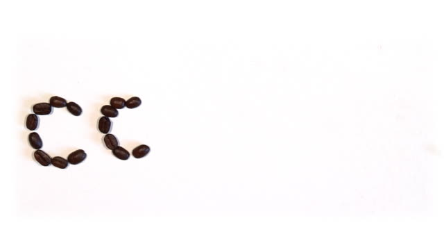 STOP MOTION: COFFEE beans video
