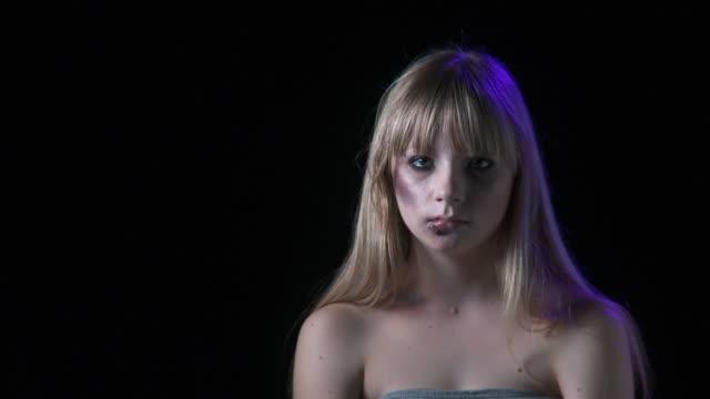 HD: Beaten Teenage Girl video