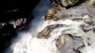Beautiful Aerial Waterfall Flythroughs video