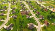 Beautiful, Affluent Suburban Neighborhood in Morning Light video