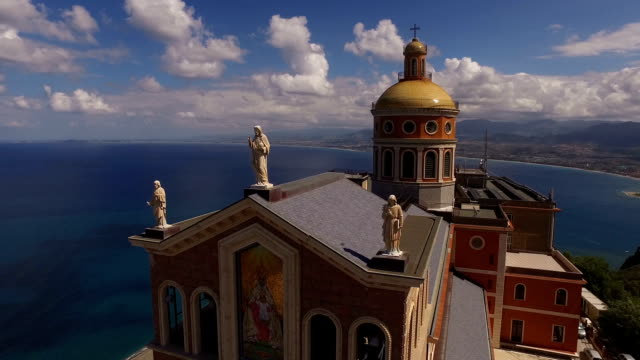 Beautiful Antique Church On The Rock video