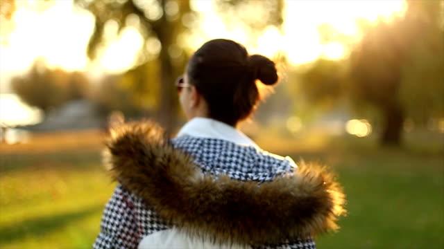 Beautiful autumn day video