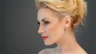 Beautiful blonde looks video