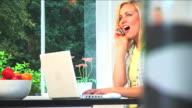 Beautiful blonde teenage lifestyle video