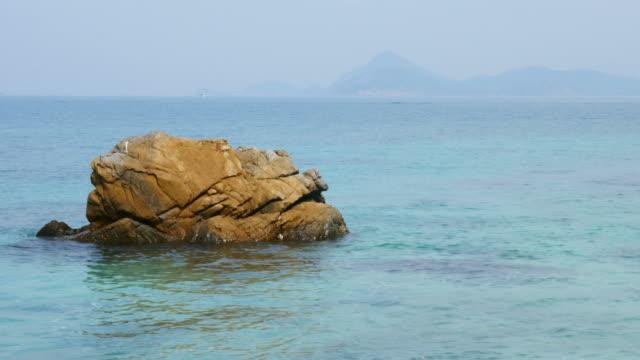Beautiful Blue Turquoise Sea in Summer Season video