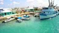 Beautiful Caribbean Fishing Port Village video