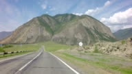 Beautiful Chuysky Trakt in Altai Mountains video