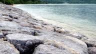 Beautiful clear waters at Kabira Bay in Ishigaki Island. video