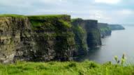 Beautiful Cliffs of Moher in  Ireland video