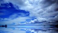 Beautiful cloudscape time lapse video