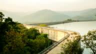 Beautiful dam in Thailand video