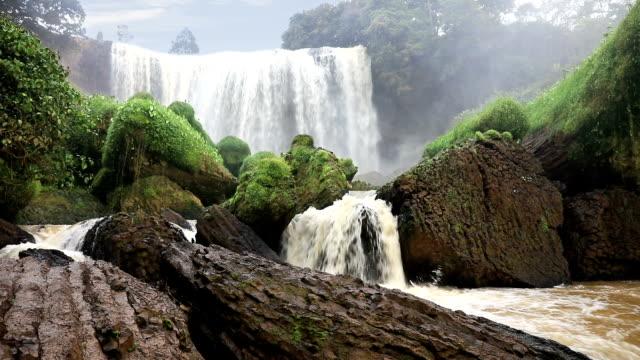 Beautiful Elephant waterfall, Vietnam video