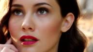 Beautiful fashion model video