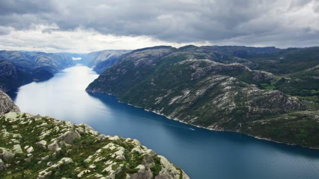 Beautiful Fjord Scenery video