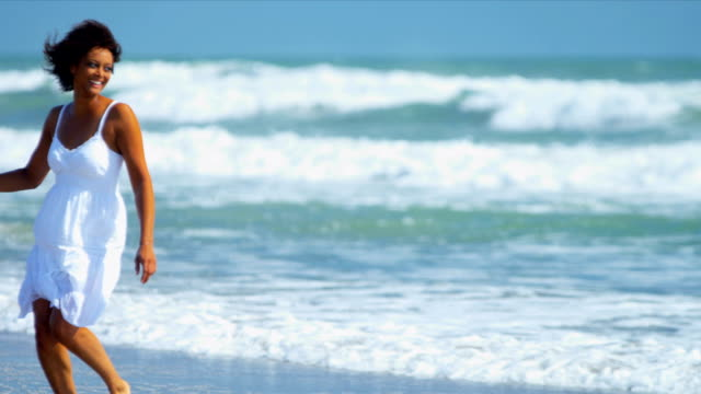 Beautiful Girl Loving Island Lifestyle video