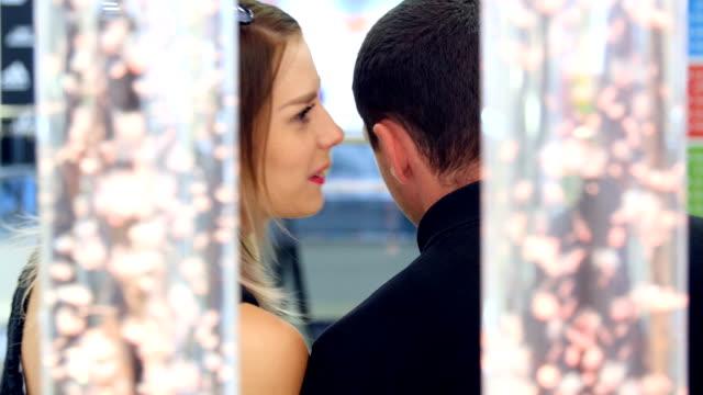 beautiful girl says quietly guy secretly video