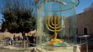 Beautiful Golden Menorah video