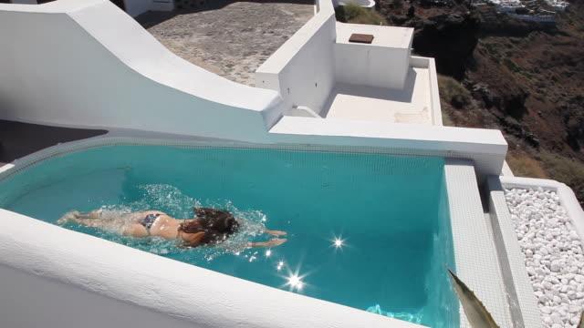 beautiful greek scenic video