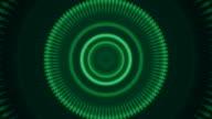 Beautiful green kaleidoscopic pattern. video