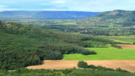 Beautiful green landscape from Hungary video