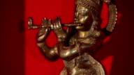 Beautiful indian statuette video