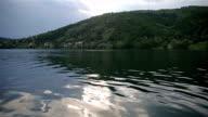 beautiful lake after rain video