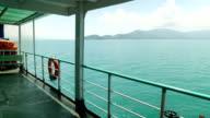 Beautiful landscape of koh samui island in gulf of Thailand video