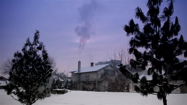 beautiful landscape on village video