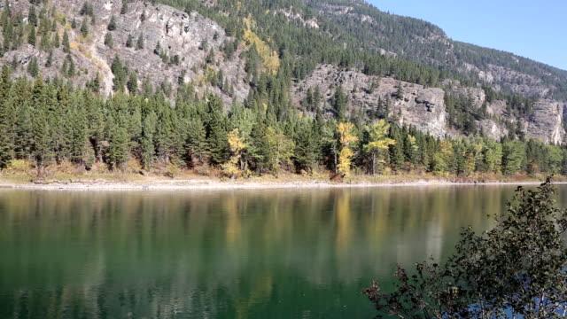 Beautiful Large Mountain River video