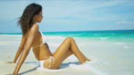 Beautiful Latin American Girl Fulfilling Dreams video