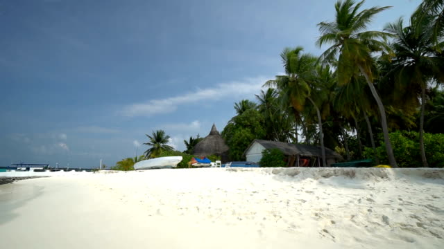 Beautiful maldives island for vacation place video