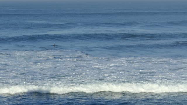 Beautiful Mediterranean blue ocean water. video