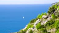 WS Beautiful Mediterranean Seascape video
