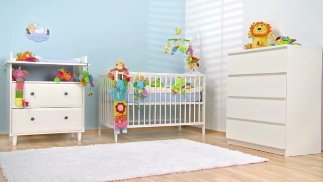 HD DOLLY: Beautiful Modern Nursery video