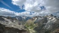 Beautiful Mountain Landscape Timelapse video