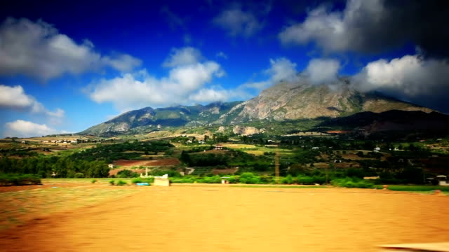 Beautiful mountain of Sicily video