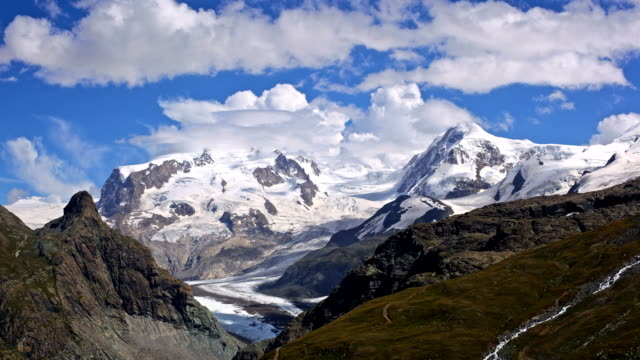 Beautiful Mountain Timelapse in the Swiss Alps video