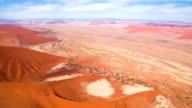 AERIAL Beautiful Namibian Desert video