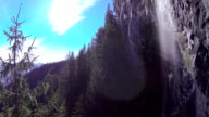 AERIAL: Beautiful nature in the mountains video