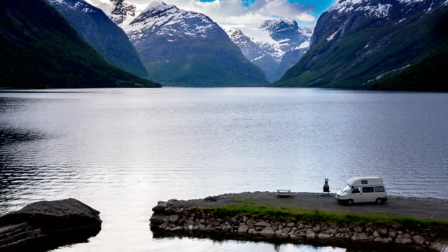 Beautiful Nature Norway. video