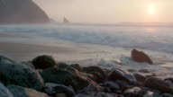 Beautiful Ocean View at Sunset video