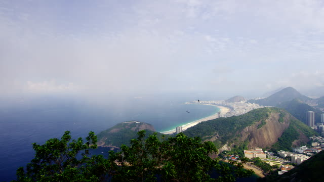 Beautiful outlook of Copacabana Rio SHOT ON RED EPIC video