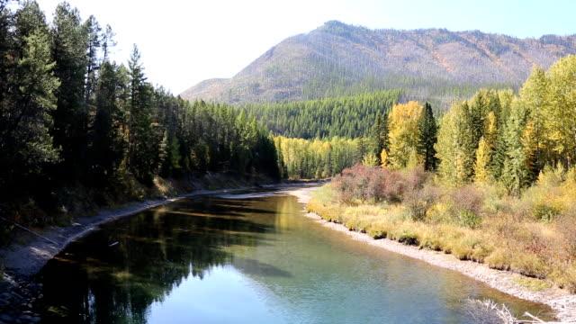 Beautiful Peaceful Mountain River video