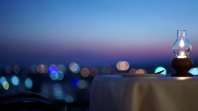 Beautiful Restaurant Atmosphere video